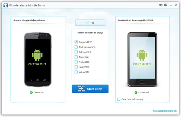How to Transfer Contacts from Samsung Galaxy to New Galaxy Phone