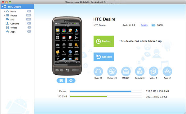 Android Data Transfer - Best Mac Android Manager - User Guide