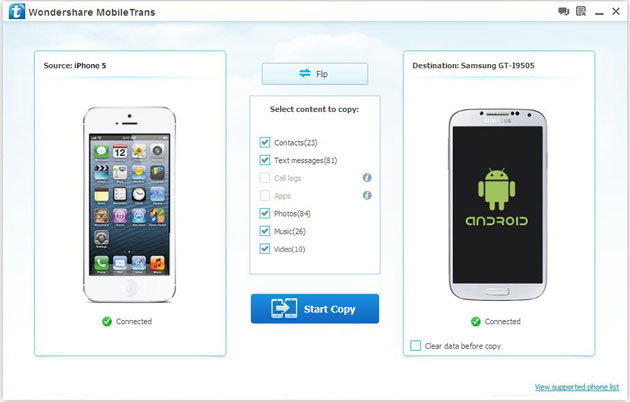 transfer notes from iphone to android how to transfer data between iphone and android phone 19491